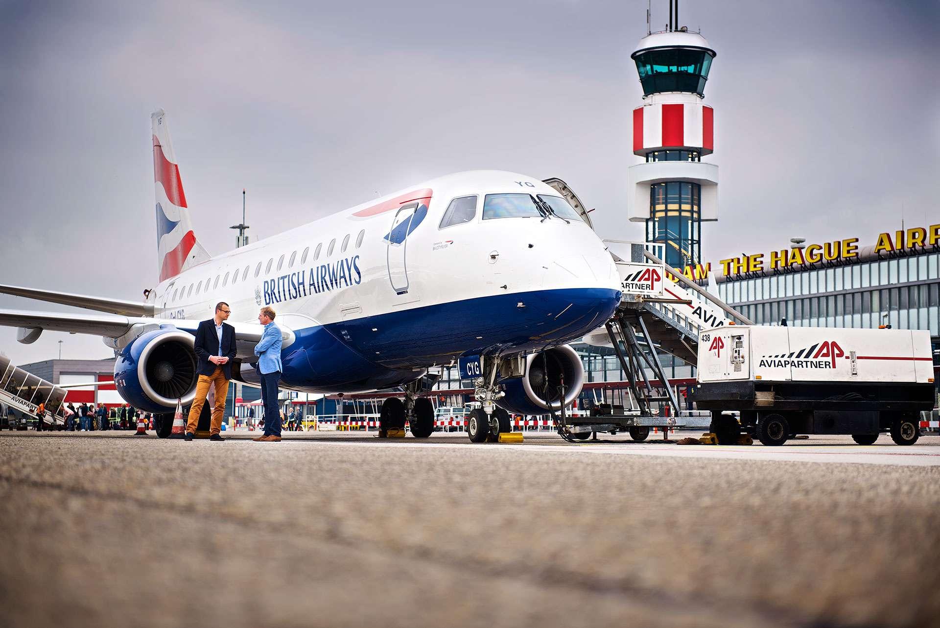 Bedrijfsfotografie, redactionele fotografie Rotterdam Airport